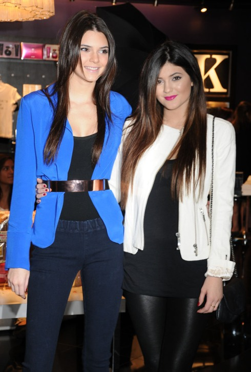 Kendall & Kylie Jenner @Mirage