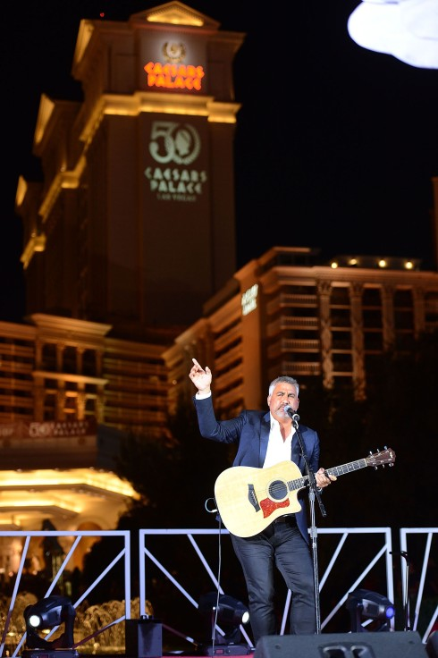Caesars Palace Honors Its 50-Year Daredevil Legacy With A Night Jump By Red Bull Skydive Team And Performance By Platinum Entertainer Taylor Hicks